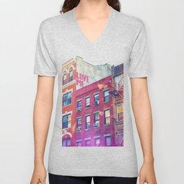 NYC Love Unisex V-Neck