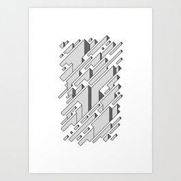 Crevices Art Print