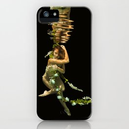 Flower Girl 1 iPhone Case