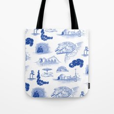Pop Porcelain: Far Far Away Tote Bag