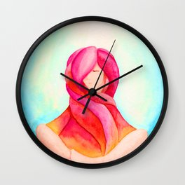 Tear Drop-Vivid Wall Clock