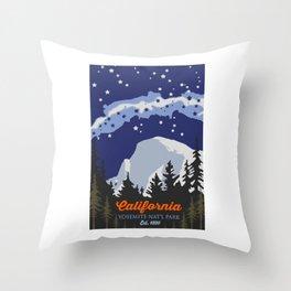 Yosemite. Throw Pillow