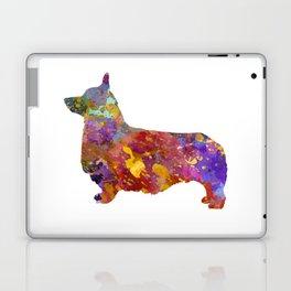 Pembroke Welsh Corgi 01 in watercolor 2 Laptop & iPad Skin