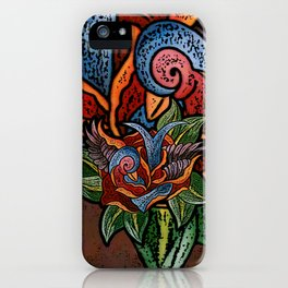 Sparrow Rose One Remix iPhone Case