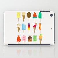 ice cream iPad Cases featuring Ice Cream by Céline Dscps