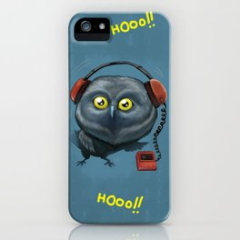 Hooting lesson iPhone Case