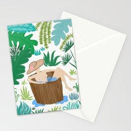Bathing Stationery Cards