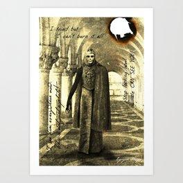 Dark Victorian Portrait: The King in Yellow Art Print
