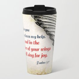 The Shadow of Your Wings Travel Mug