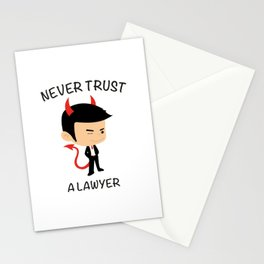 Cover Lawyers Stationery Cards