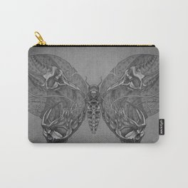 Butterfly skulls 1 Carry-All Pouch