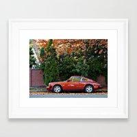 porsche Framed Art Prints featuring Porsche by L R Photography