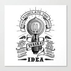 Idea Canvas Print