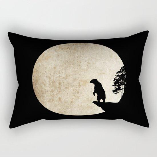 Bear Night Rectangular Pillow