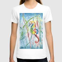 Colorful Seahorse T-shirt