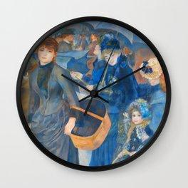 "Auguste Renoir ""The Umbrellas (French: Les Parapluies)"" Wall Clock"