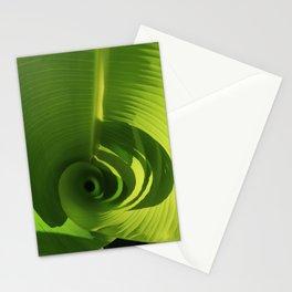 Banana Leaf Swirl Stationery Cards