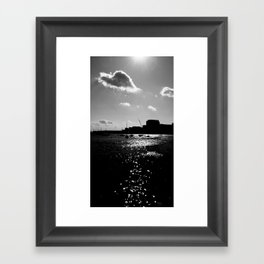 Boston Harbor-II Framed Art Print