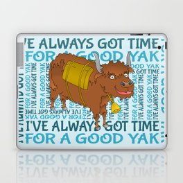 Time for a YAK Laptop & iPad Skin