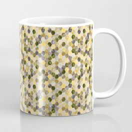 Bitmap in beige tones. Coffee Mug