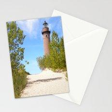 Lake Michigan Lighthouse Stationery Cards
