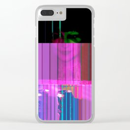pink PINK 10 Clear iPhone Case