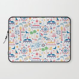 Newport Harbor Doodles Laptop Sleeve