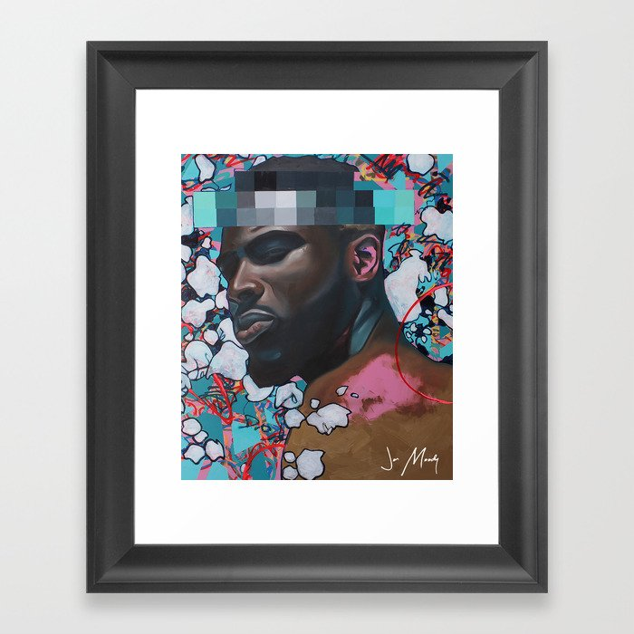 Free Thought Framed Art Print