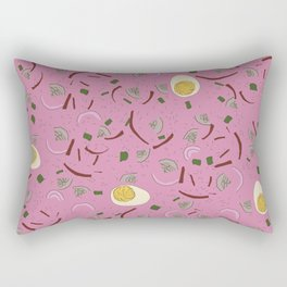 Eastern European Food/ Cold Beet Soup Rectangular Pillow