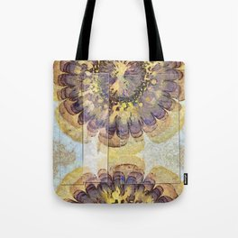 Tofu Unclothed Flower  ID:16165-030907-41931 Tote Bag