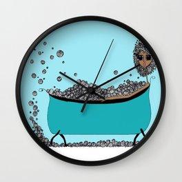 Earthling Bath Time Wall Clock