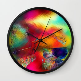 boire un verre Wall Clock