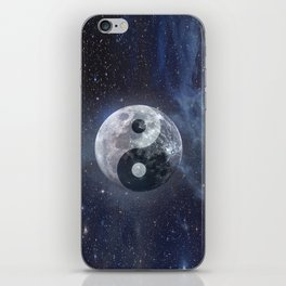 Yin Yang Moon iPhone Skin