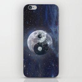 Yin Yang Moon iPhone Skin