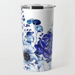 Midnight Blue (White Background) Travel Mug