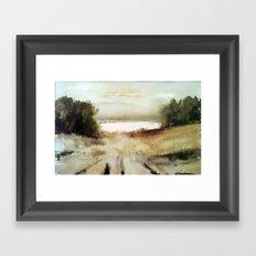 Far away Framed Art Print