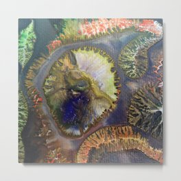 EMBRYONIC SLUDGE Metal Print