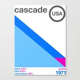 cascade//single hop Canvas Print