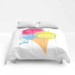 Paintball Cone Comforters