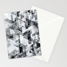 Marble madness Stationery Cards