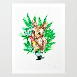 Benny Bluntz Art Print