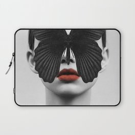 BLACK BUTTERFLY Laptop Sleeve