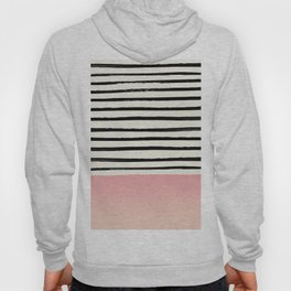 Blush x Stripes Hoody