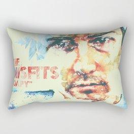 Soapy Rectangular Pillow