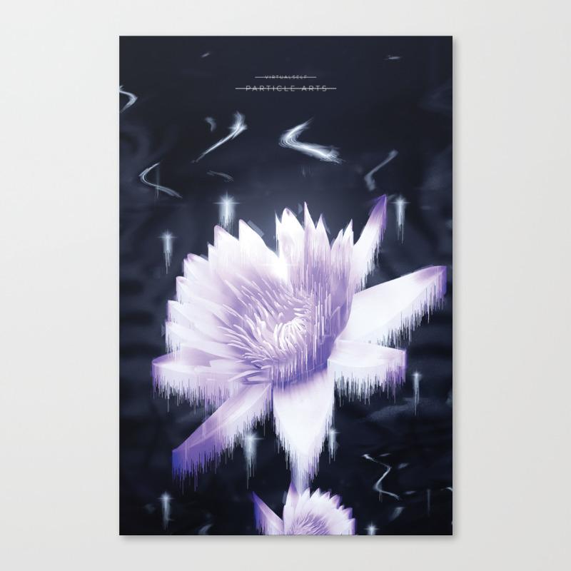 Particle Arts Canvas Print