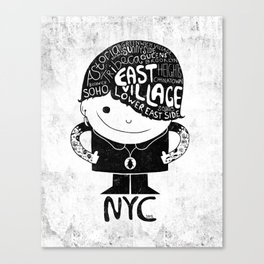 NYC Club Kid 2012 Canvas Print