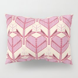 Origami Heart Pillow Sham