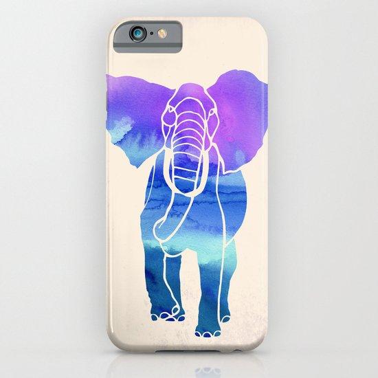 Watercolor Elephant iPhone & iPod Case