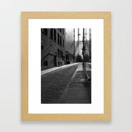 Boston ally Framed Art Print