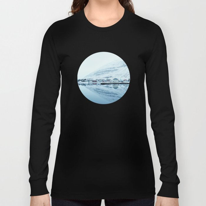 Houses by the water reflect Long Sleeve T-shirt